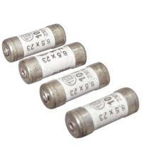 4 fusibles cylindre 8,5x23mm 10a - TIBELEC