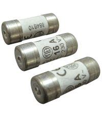 3 fusibles cylindre 10,3x25,8mm 16a - TIBELEC