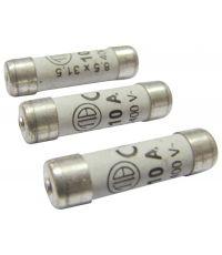 3 fusibles cylindre 8,5x31,5mm 10a - TIBELEC