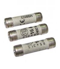 3 fusibles cylindre 8,5x31,5mm 16a - TIBELEC
