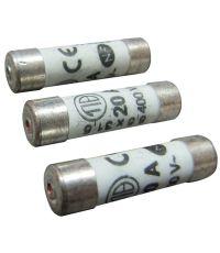 3 fusibles cylindre 8,5x31,5mm 20a - TIBELEC