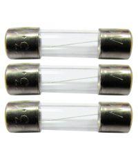 3 fusibles verre 5x20mm 3,15a. - TIBELEC