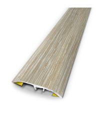 Barre seuil murano blanchi 3m