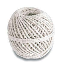 Cordeau maçon coton câblé écru Ø 3mm 20 m résistance 35kg