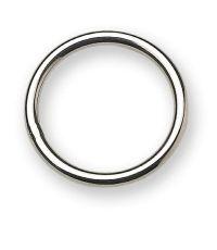 Lot de 3 anneaux soudés - acier inoxydable - ∅ fil 4 mm - ∅ 32 mm - CHAPUIS