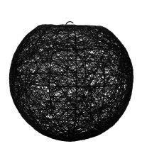 Suspension Boule Noire D30cm - OSTARIA