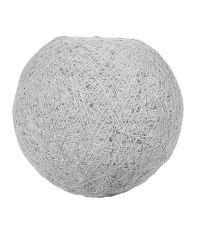 Suspension Boule Grise D30cm - OSTARIA
