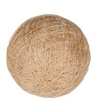 Boule tissu taupe ⌀ 6 cm - OSTARIA