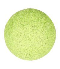 Boule tissu vert anis ⌀ 6 cm - OSTARIA