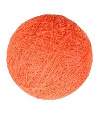 Boule tissu orange ⌀ 6 cm - OSTARIA