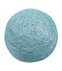 Boule tissu azur ⌀ 6 cm - OSTARIA