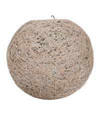 Suspension Boule Taupe D30cm - OSTARIA