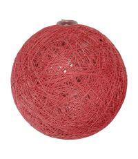 Boule tissu rose tendre ⌀ 6 cm - OSTARIA