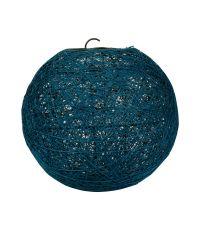 Suspension Boule Bleue Canard D20cm