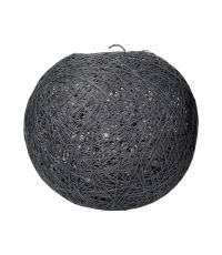 Suspension Boule Grise D20cm - OSTARIA