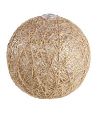 Boules en tissu Gloss or Ø6 cm