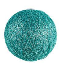 Boules en tissu Gloss vert clair Ø6 cm
