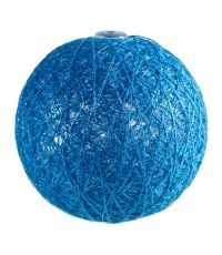 Boules en tissu Gloss bleu clair Ø6 cm