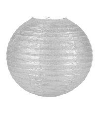 Boule Japonaise Pailletée Argentée 35cm - OSTARIA