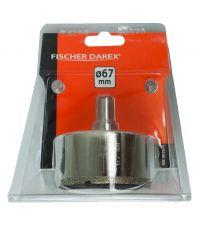 Scie rotative au diamant d67mm - FISCHER DAREX