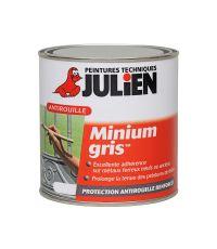 Peinture primaire Minium antirouille Gris 0,250L - JULIEN