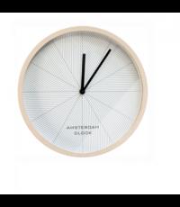 Horloge en métal Amsterdam Ø 30 cm