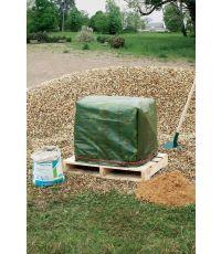 Bâche de protection co-extrudée PROTEX EXTRA  en LDPE 120 g/m² vert 4x5m - CELLOPLAST
