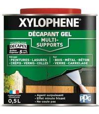 Décapant Gel Toutes Surfaces Action Rapide 0,5L - XYLOPHENE