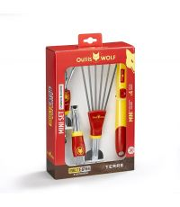 Mini-set Multi-Star 3 outils + manche - OUTILS WOLF