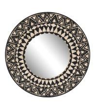Miroir 40cm imprime ethnique