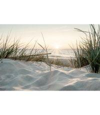 Toile 45x65 beach sunset