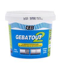 Pate à joint pour raccords filetés métalliques - GEB
