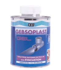 Colle pour canalisation PVC non plastifié - GEB