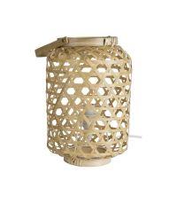 Lampe de Chevet Lantea 28x18x18cm 40W Marron - MATHIAS