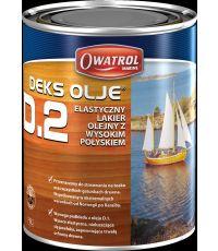 Vernis marine souple Brillant 1L- RUSTOL OWATROL