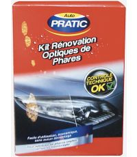 Kit Rénovation Optiques de Phares - AUTO PRATIC