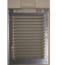 grille alu avec moustiquaire 140 x 190 - HBH