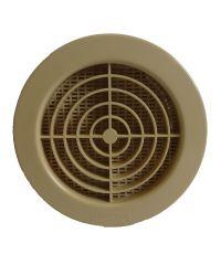 Grille moustiquaire ronde beige Ø 100 - HBH