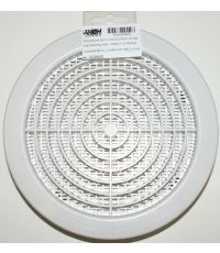 grille moustiquaire ronde blanc ø160 - HBH