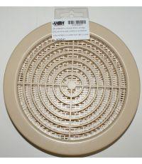 grille moustiquaire ronde beige ø160 - HBH