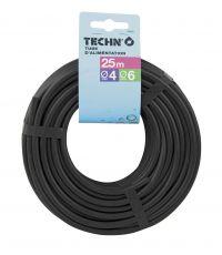 Tuyau capillaire micro-conduit D.4x6mm - longueur 15m - TECHNO