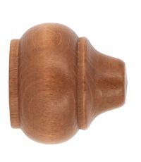 Embouts à emboîter bois classique x2 ø 35mm merisier Rustique - MOBOIS
