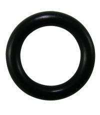 Lot de 10 anneaux en plastique Ø56 pour tringle à rideaux de Ø28 mm noir mat - MOBOIS