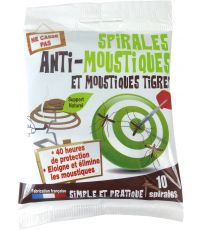 Spirales anti-moustiques x 10