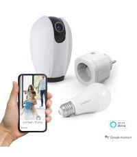 Kit Start connect (caméra + prise + ampoule connectée) - AVIDSEN