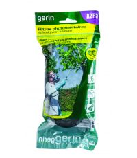 2 filtres A2P3 phytosanitaire pour demi masque - GERIN