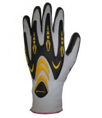 Clip de 18 paires de gants tous travaux renforcés T.8  - GERIN