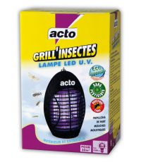 GRILL INSECTES LAMPE LED UV