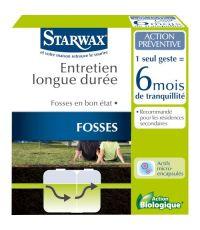 Entretien fosses septique longue durée 6 mois 500g - STARWAX