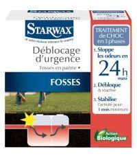 Traitement d'urgence fosses bloquées 3x200 g - STARWAX